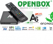 OPENBOX A6 Android Nougat 7.0 IPTV